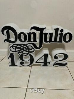 Don Julio Tequila 1942 LED Lit Sign 30 20 1 Of 1 Piece NEW LIGHT UP