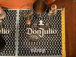 Don Julio Tequila Margarita Drink Bar Kit Man Cave Home Bar Decoration Patron