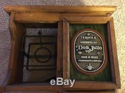 Don Julio Tequila Wood Chest w Swing Very Cool