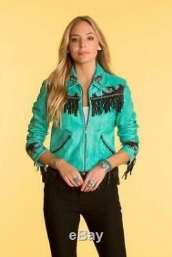 Double D Ranchwear Winslow Jacket Tequila Turqouise