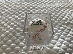 ELON MUSK / TESLA / Tequila -Authentic Sign Autograph MLB Baseball w Certificate