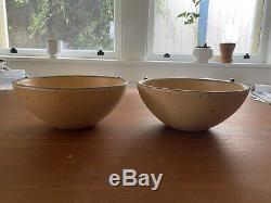 East Fork Pottery (2) Soup Bowls Tequila Sunrise 2nds UNUSED NEW