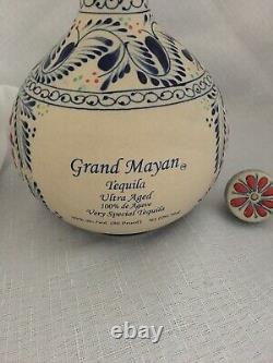 Empty Collectible Grand Mayan Tequila bottle