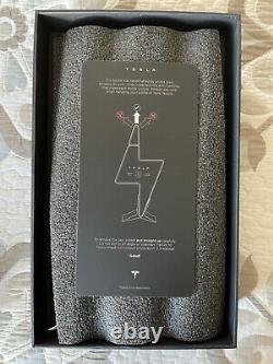Empty Tesla Tequila Limited Edition Lightning Bottle Bottle, Box & Stand