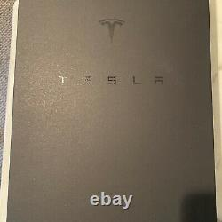 Empty Tesla Tequila Tequila Bottle + Stand + Box Limited Edition No Alcohol