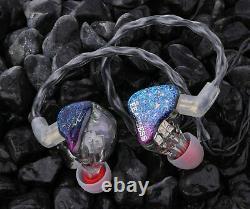 Fearless Audio Tequila 1DD+6BA Hybrid Driver Starry Faceplate in-Ear Earphone