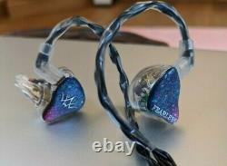 Fearless Tequila Headphones IEMs 6BA + 1DD Boxed Excellent S8