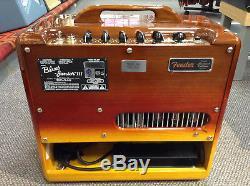 Fender Blues Junior III Woody Guitar Amplifier Tequila Sunrise