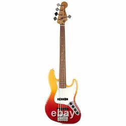 Fender Player Plus Jazz Bass V Pau Ferro Tequila Sunrise