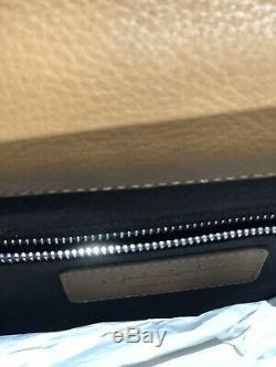 Folder Professional Santoni Leather Tequila Luxury Santoni Work Bag