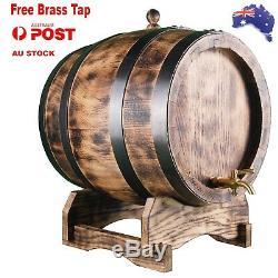 French Oak Barrel Rustic Barrel Keg Age Whiskey Rum Gin Cognac Brandy Tequila