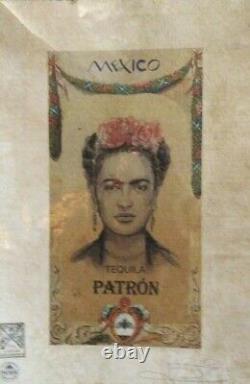 Frida Kahlo, Patron Tequila, Mexico, Artist Proof Print 22'x15'x Fairchild Paris