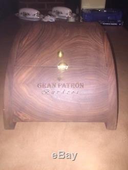GRAN PATRON BURDOOS TEQUILA 750ML EMPTY BOTTLE With BEE STOPPER NUMBERED Box