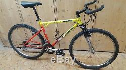 GT Ricochet original Tequila Sunrise Mtb Retro Stahlrad Fahrrad Mountainbike