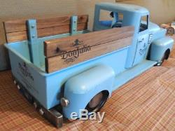 Giant-Size DON JULIO 1942 TEQUILA Liquor Store Display BLUE PICK-UP FARM TRUCK