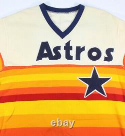 Glenn Davis Rookie Game Used Houston Astros Tequila Sunrise Jersey Pants Uniform