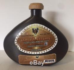 Gran Cuerno De Chivo Tequila Bottle Decanter Art Work Mara Mexico Stoneware Rare