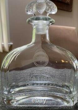 Gran Patron Burdeos Tequila Empty Bottle 750ml No scratches