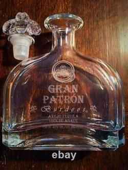 Gran Patron Burdeos Tequila Empty Bottle 750ml No scratches very rare from japan