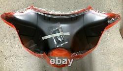 Harley-Davidson Tequila Sunrise/HD Orange Front Batwing Fairing NIB Retail $752
