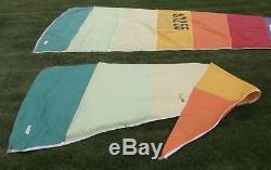 Hobie Cat 16 Main & Jib Tequila Sunrise Sails used