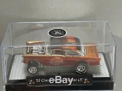 Hot Wheels'55 Chevy Gassertequila Sunrisela Convention 2019 Acrylic Case