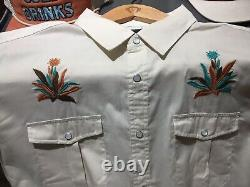Howler Brothers Gaucho Snapshirt Western Tequila Crosscut xl new