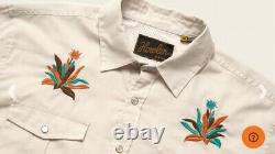 Howler Brothers Gaucho Snapshirt Western Tequila Crosscut xx LARGE new XXL