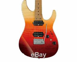 Ibanez AZ242FTSG AZ Premium 6str Electric Guitar withCase Tequila Sunrise Gradat