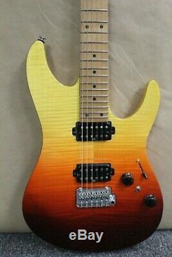 Ibanez AZ242F AZ Tequila Sunrise Gradation Premium Series Electric Guitar