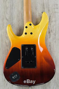 Ibanez AZ242F Premium Electric Guitar, Flamed Maple Tequila Sunrise Gradation
