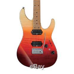 Ibanez AZ Premium AZ242FTSG Electric Guitar withCase Tequila Sunrise Gradation