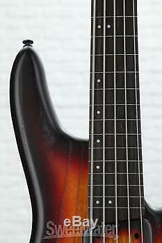Ibanez Gary Willis Signature GWB205 Fretless Bass Guitar Tequila Sunrise Flat