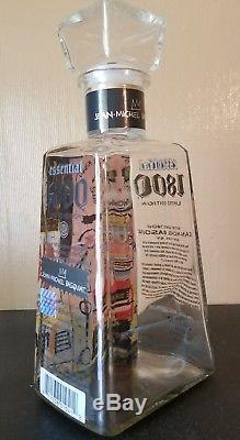 Jean-Michel Basquiat 1800 Tequila Essential Artist Series In Italian Bottle