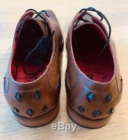 Jeffery West Gis Brogues Men's Size 9 Tequila Tan Rrp £190