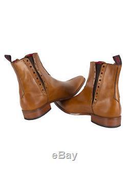 Jeffery West Men's Tequila Boots, Brown