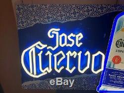 Jose Cuervo Especial Silver Tequila Led Bar Sign Man Cave Garage Decor Large
