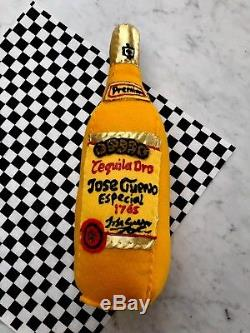 Jose Cuervo GOLD Tequila. Lucy Sparrow Mart Original. SOLD OUT Signed Pop Art