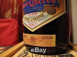 Jose Cuervo-Reserva De La Familia Tequila-1st Edition-Bottled 1996 (UNOPENED!)