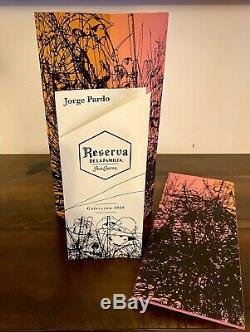 Jose Cuervo Reserva de la Familia 2019 Tequila box (empty box) Jorge Pardo 750ml