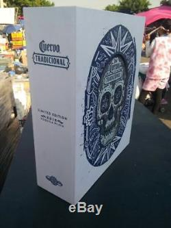 Jose Cuervo Tequila Box 2016 Day of the Dead Tradicional VERY VERY RARE