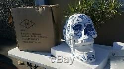 Jose Cuervo Tequila Dia De Los Muertos skull Bar Store Display Piece RARE NIB