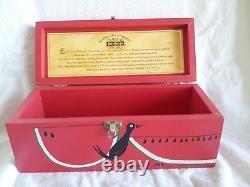 Jose Cuervo Tequila Reserva De Familia 1999 Collector Box NICE! Leonardo Romero