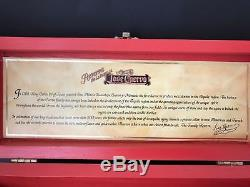 Jose Cuervo Tequila Reserva De Familia 1999 Leonardo Gutierrez Wood BOX ONLY