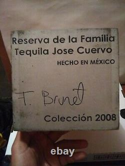 Jose Cuervo Tequila Reserva De Familia Box 2008 BRUNET 2.5L VERY RARE