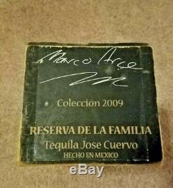 Jose Cuervo Tequila Reserva De Familia Box 2009 Marco Arce VERY RARE