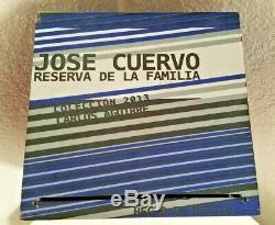 Jose Cuervo Tequila Reserva De Familia Box 2013 Carlos Agurirre 2.5L VERY RARE