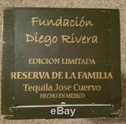 Jose Cuervo Tequila Reserva De Familia Collector Box EXT RARE! Diego Rivera