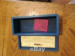 Jose Cuervo Tequila Reserva de la Familia Wood Box Artemio Rodriguez 1997