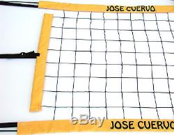 Jose Cuervo Tequila Volleyball Net, Twisted Rope Top and Bottom- JCPNR